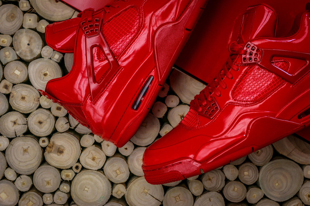 Air Jordan 11Lab4 Red 719864-600 (7)