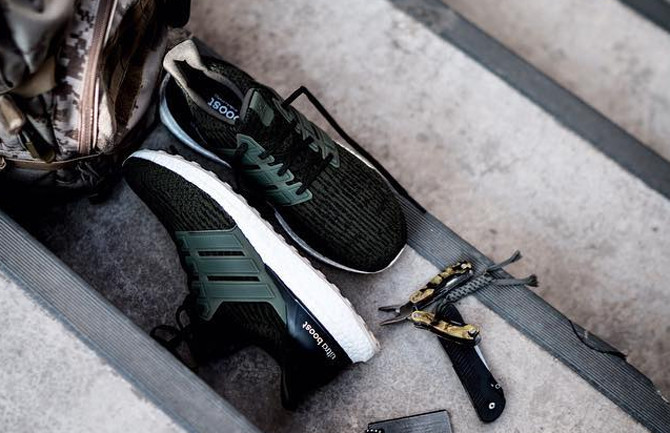 Adidas Ultra Boost 3 Olive White