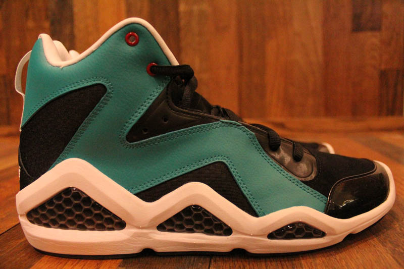 Reebok Kamikaze III - Black/Teal/Red/White - R23 Exclusive 4