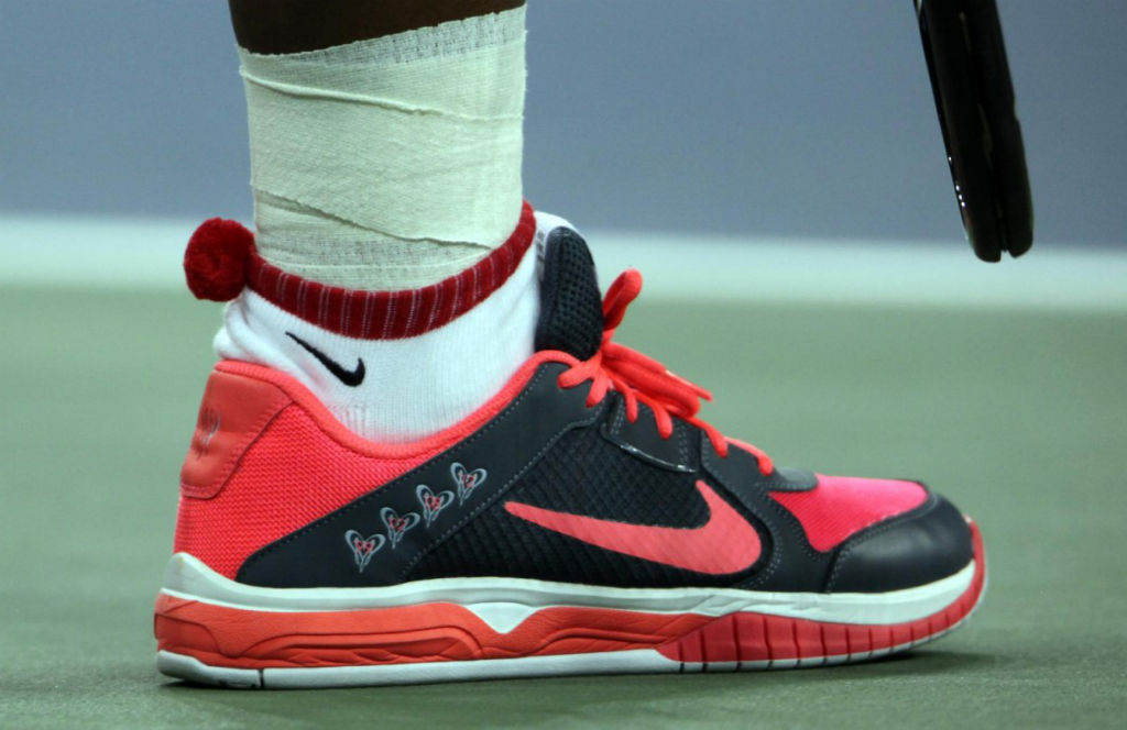 Serena Williams US Open Nike Lunar Mirabella 3 PE (1)