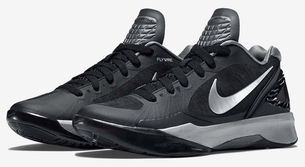Nike Zoom Volley Hyperspike Black/Silver (1)