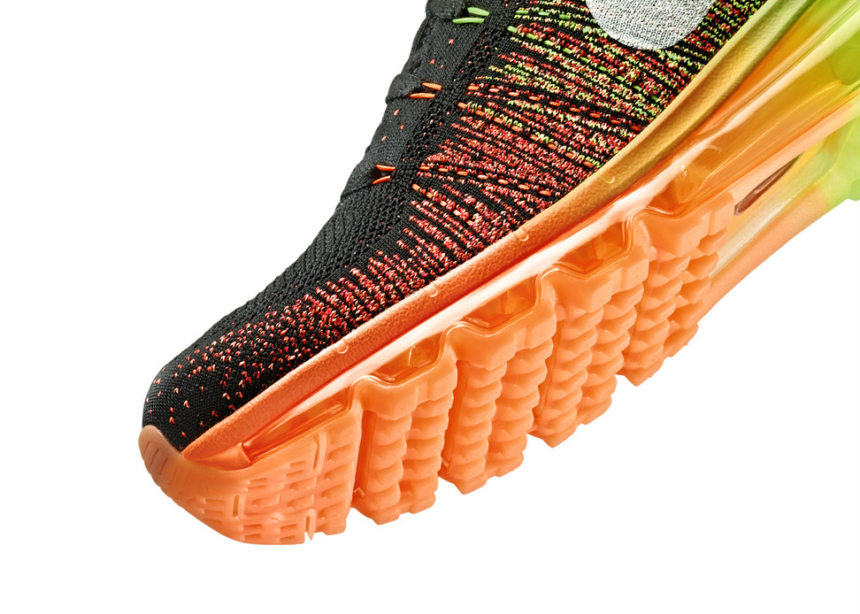 Nike Flyknit Air Max Mens midsole