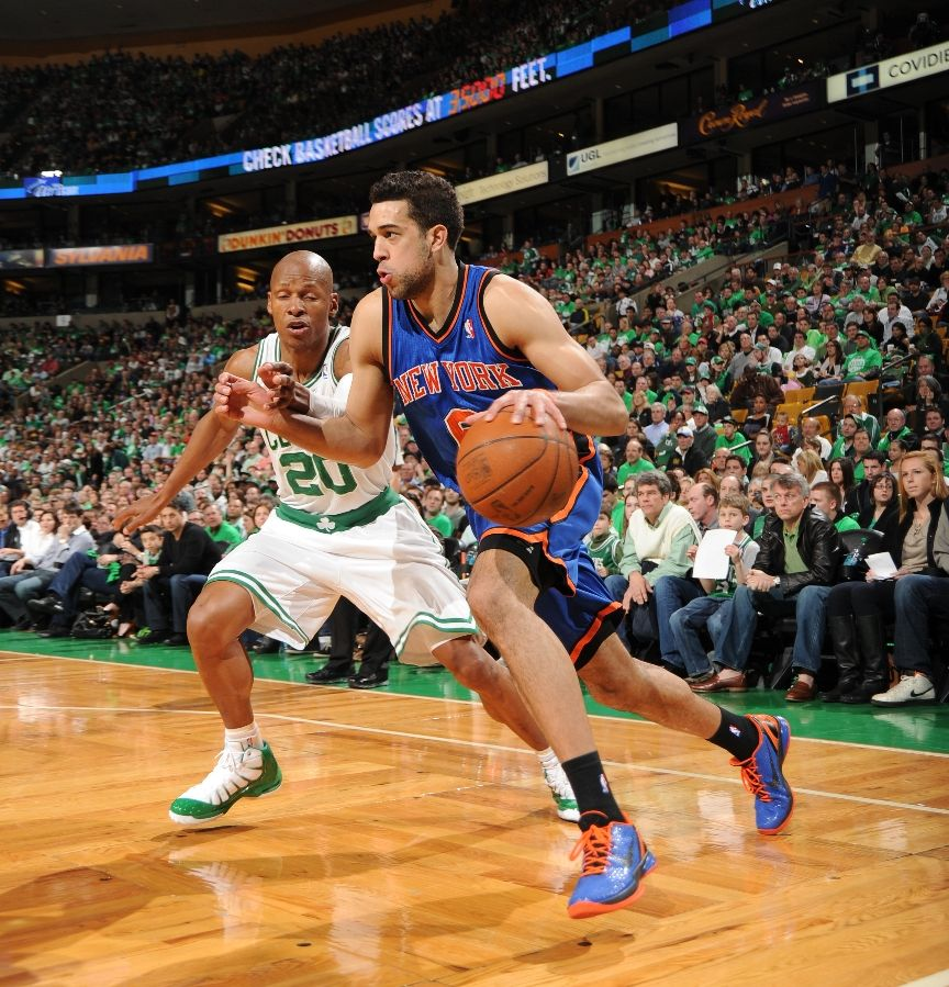 Landry Fields weraing the Nike Zoom Kobe VI