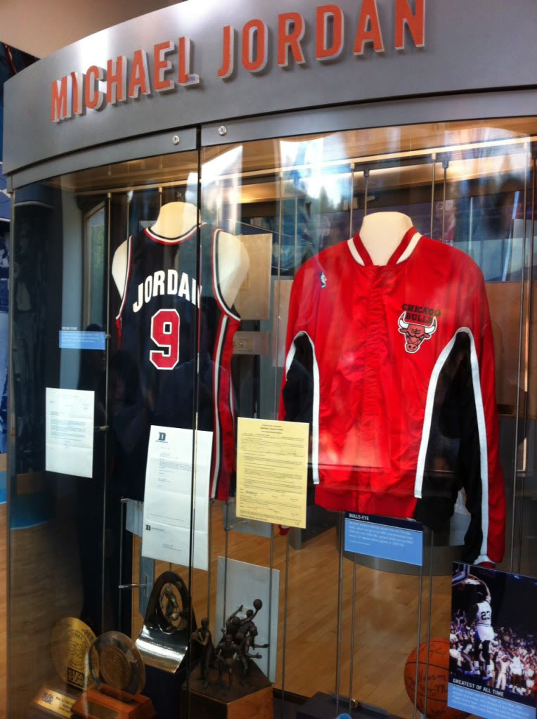 Michael Jordan Displays at the Carolina Basketball Museum (4)