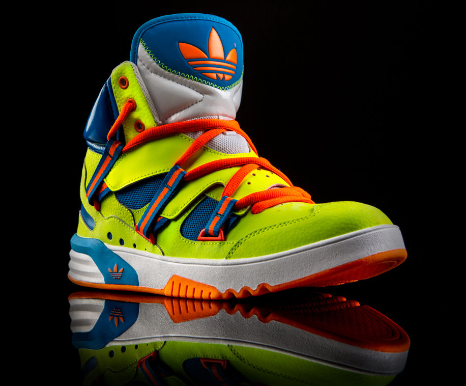 adidas Originals Roundhouse Instinct Electricity Blue Orange Q32966 (5)