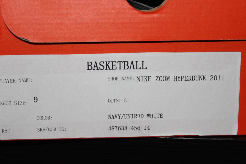 new style 3262e 70e99 Nike Zoom Hyperdunk 2011 Low USA Sample 487638-456 (11)