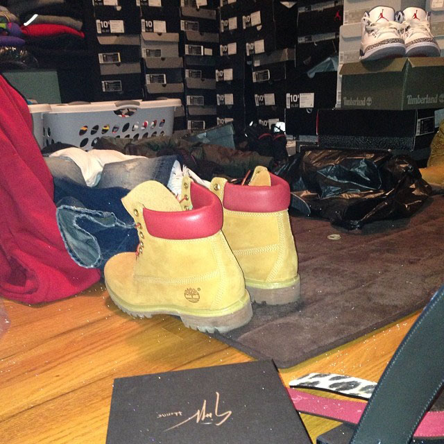 Jim Jones Picks Up DTLR x Timberland 6-Inch Boot