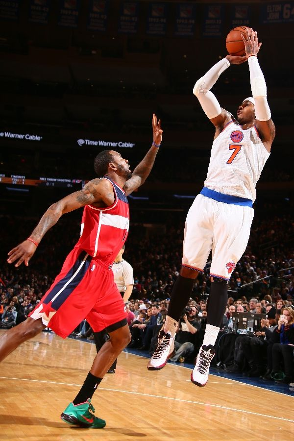 2ba63887d2052e SoleWatch  Carmelo Anthony Debuts the Jordan Melo M11 for Christmas ...