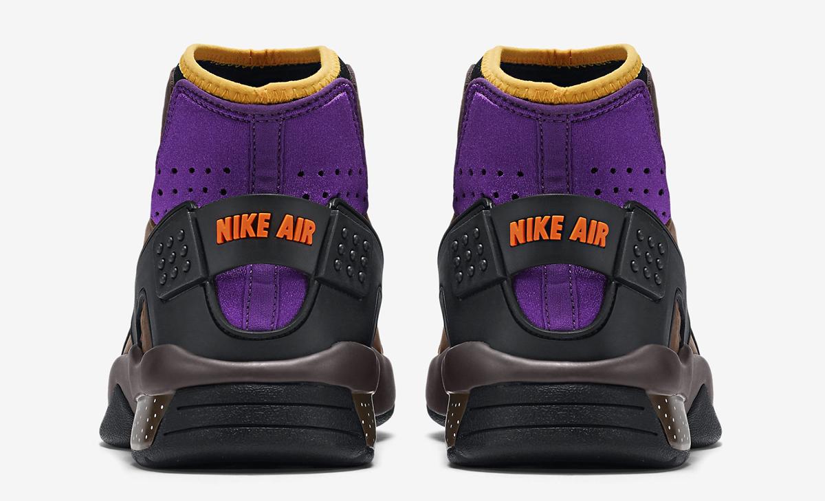 Nike Mowabb OG Color: Trail End Brown/Total Orange-Pitch-Black-Prism  Violet-Laser Orange Style #: 749492-282. Price: $180