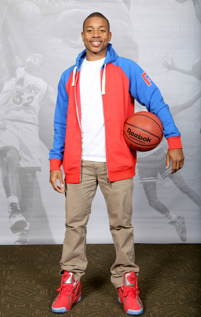 Isaiah Thomas Attends Reebok Kamikaze II Houston Re-Launch (2)
