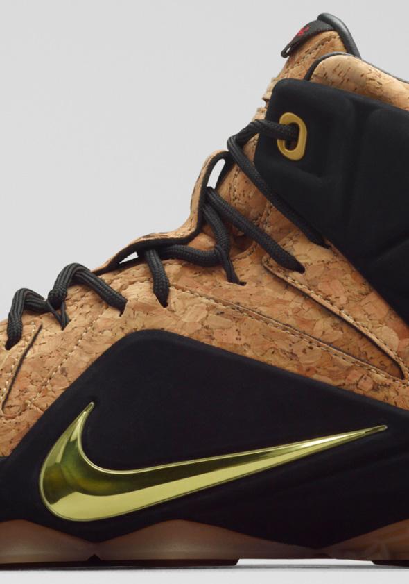 0985e56ef36 The  Cork  Nike LeBron 12 Release Is Just a Week Away
