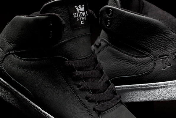 SUPRA Society - Black Full Grain 2