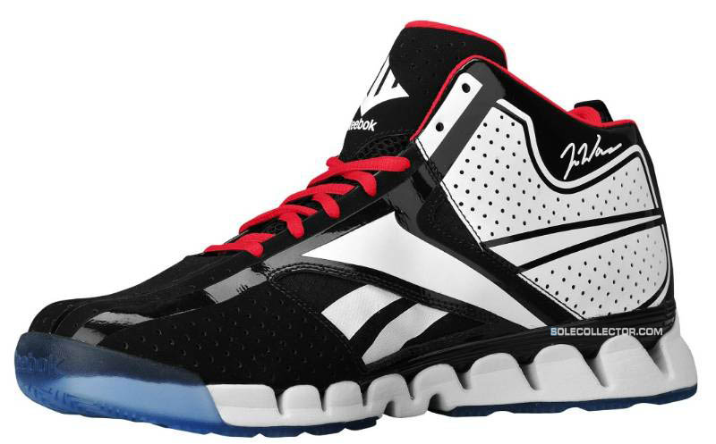 Reebok Zig Encore John Wall Black White Red Ice J84856