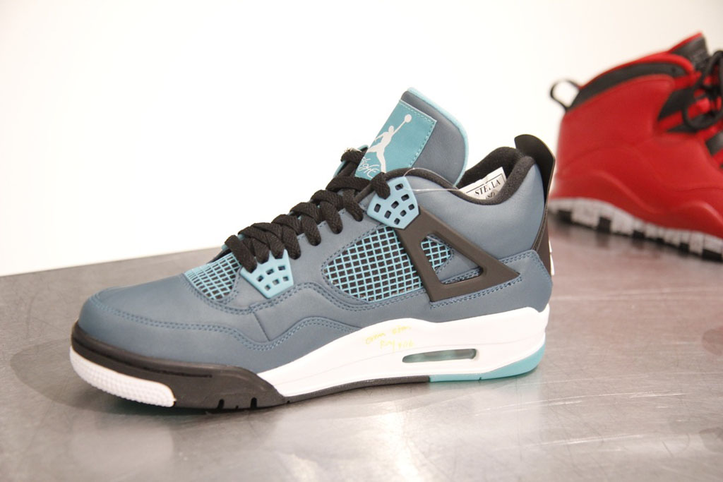 Air Jordan IV 4 Retro Teal 2015 (4)