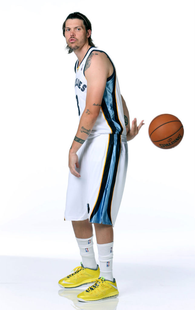 Mike Miller wearing Nike LeBron X Low Sonic Yellow