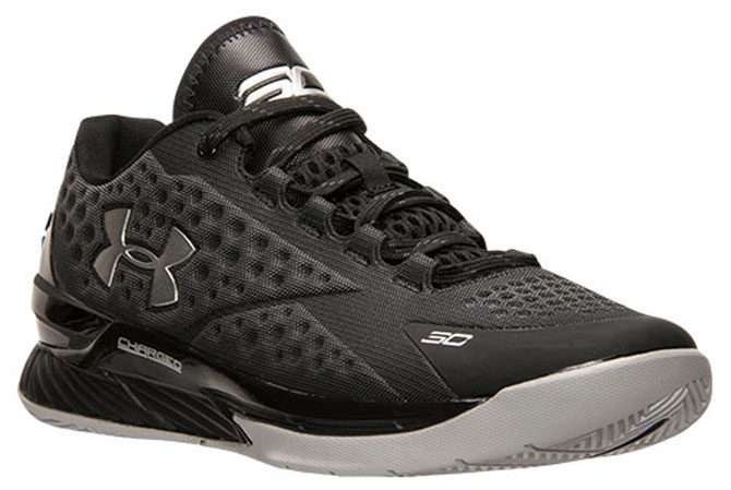 Under Armour Curry One Low Black Silver (8)