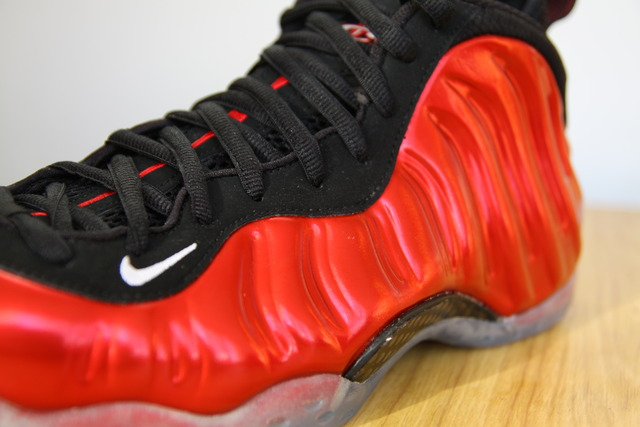 Nike Air Foamposite One Metallic Red Black 314996-610 7