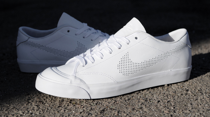 release date f9539 2dd8f Nike Brings Back the All Court 2 Low with Perf Branding