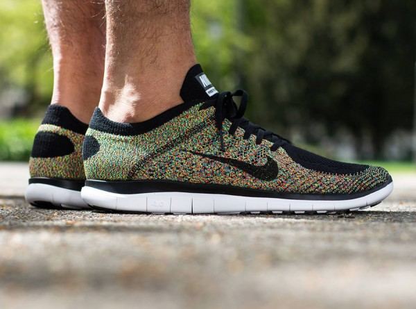 official photos 54542 b09f9 The  Multi-Color  Nike Free Flyknit 4.0 is expected to hit select retailers  soon.