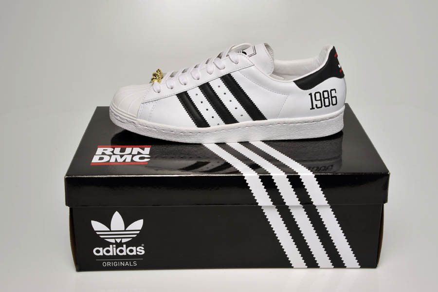 "adidas Originals Superstar 80s - Run DMC ""My adidas"" 25th Anniversary 28"