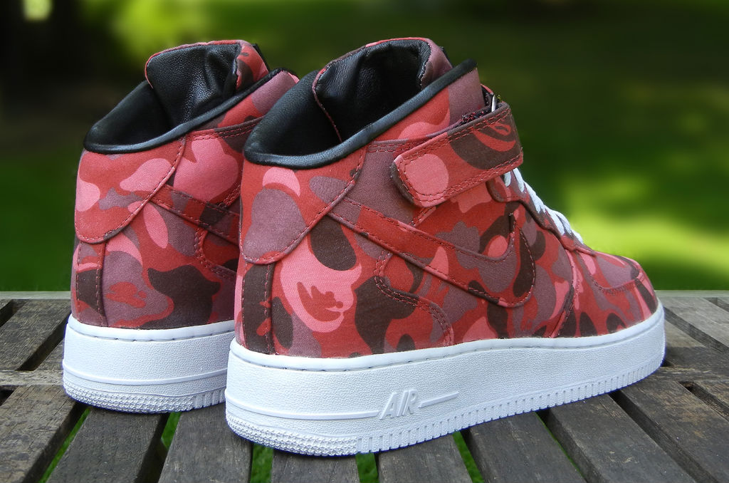 Nike Air Force 1 Mid BAPE By JBF Customs (3)