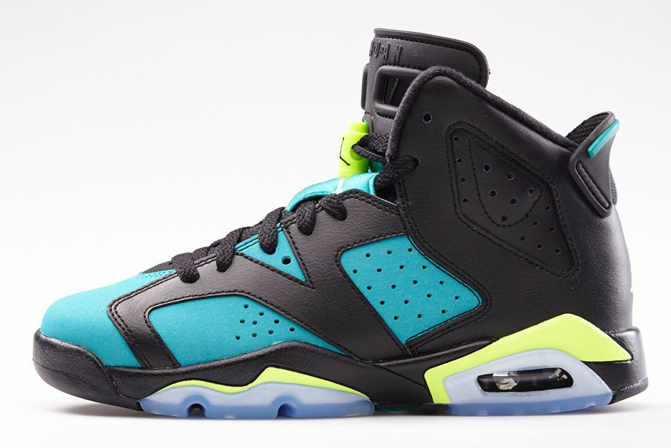 Air Jordan VI 6 GS Turbo Green 543390-043 (2)