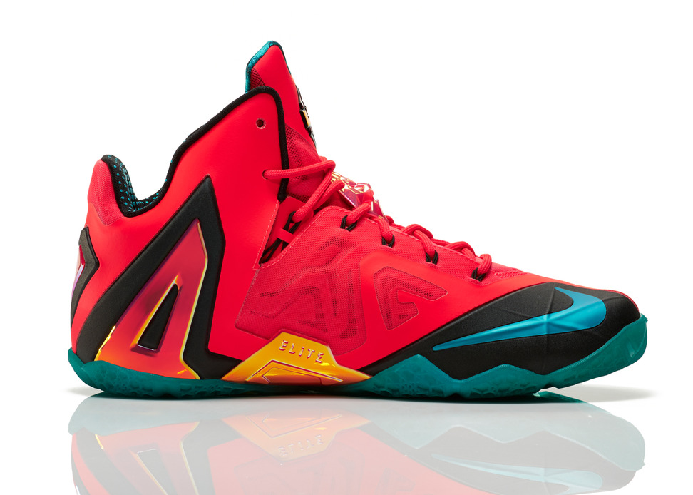 Nike LeBron 11 Elite Hero Medial