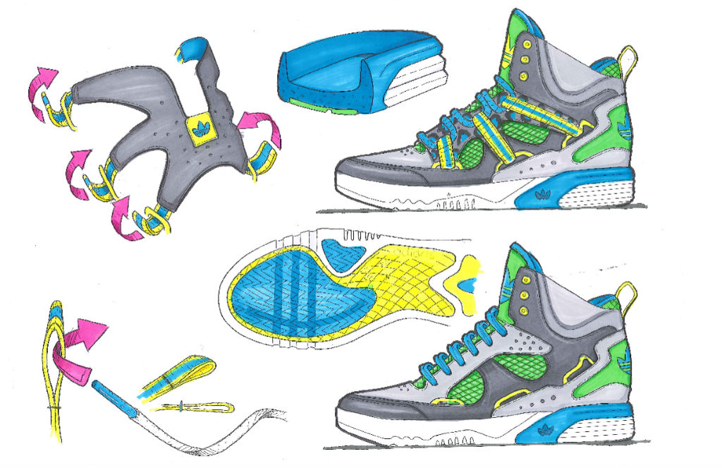 adidas Originals Roundhouse Instinct Sketch