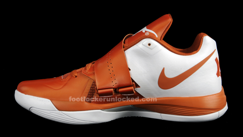 Cheap Quality Nike KD 4 473679 801 Texas Desert Orange White