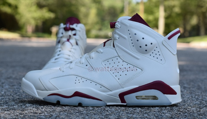 Air Jordan 6 Maroon 384664-116 (7)