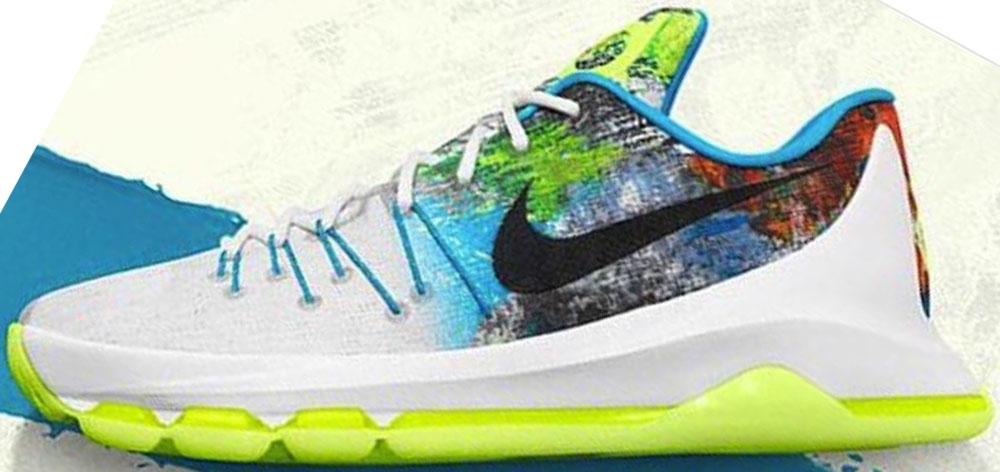 Nike KD 8 N7 White