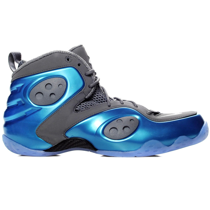 A unique wolf grey and dynamic blue combination works this Spring 12  release of the Zoom Rookie LWP