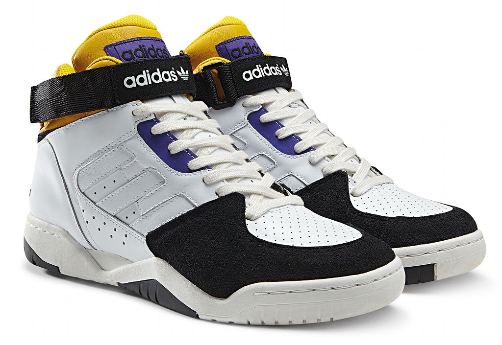 online retailer 97c71 a44f6 adidas Originals ENFR Mid FallWinter 2013 White Yellow Purple Black G96677  (2)