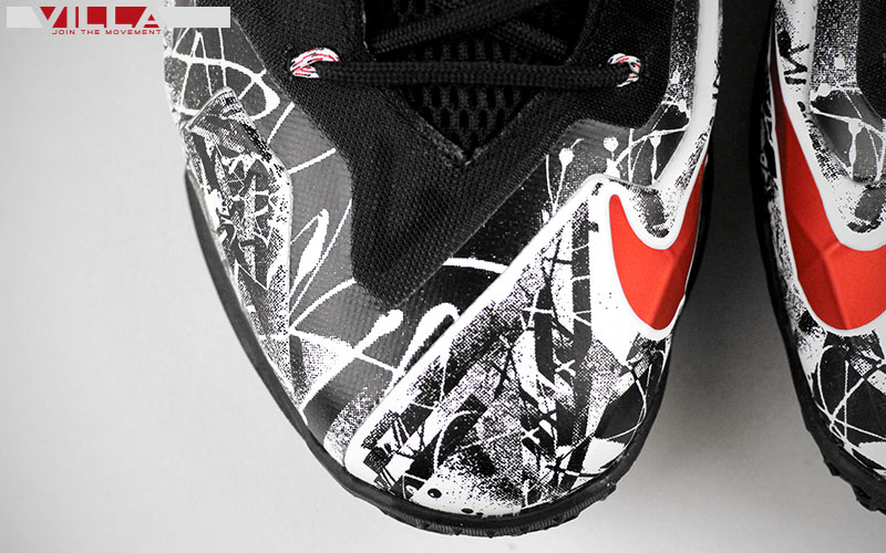 Nike LeBron 11 Tagged in Graffiti  20889fb72ba1