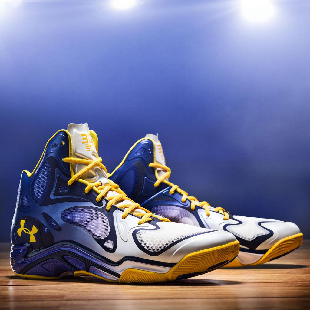 Stephen Curry's The Bay Under Armour Anatomix Spawn PE