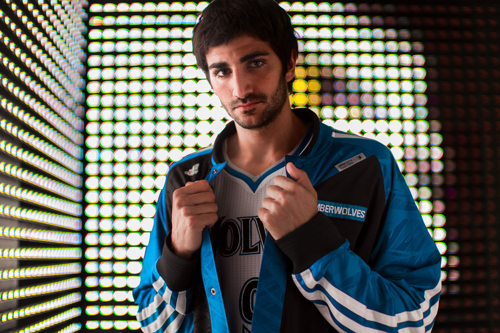 adidas 2013-2014 NBA On-Court Collection // Ricky Rubio (2)