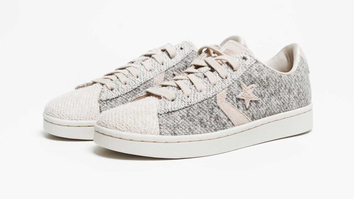 Converse First String Pro Leather Ox Japanese Terry grey
