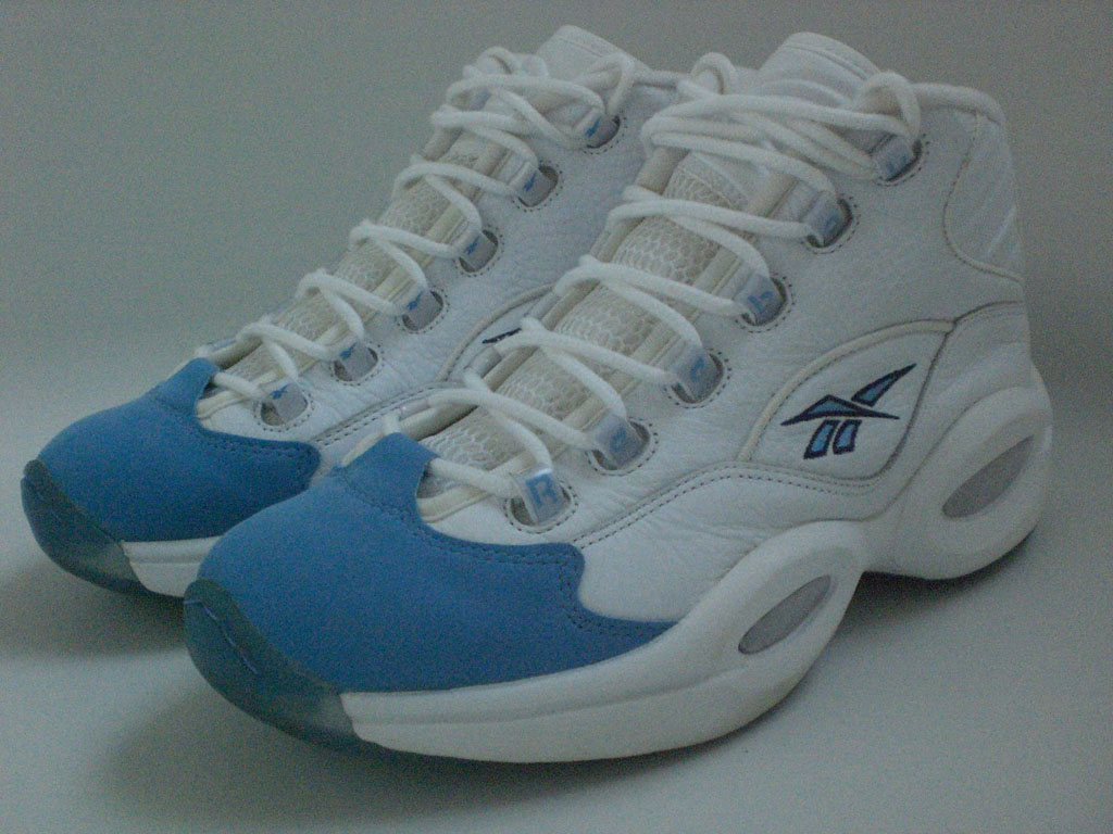 Reebok Question White/Carolina