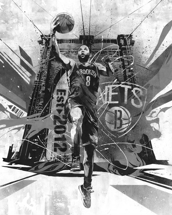 RareInk x NBA Deron Williams by Dragon76 (1)