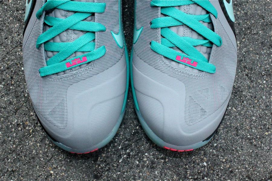 online store 3e8da ce365 Nike LeBron 9 P.S. Elite Miami Vice South Beach 516958-001 (8)