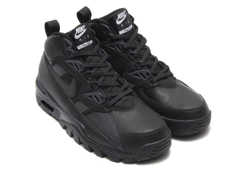 caefee5d9ff Nike Air Trainer SC High Sneakerboot  Triple Black