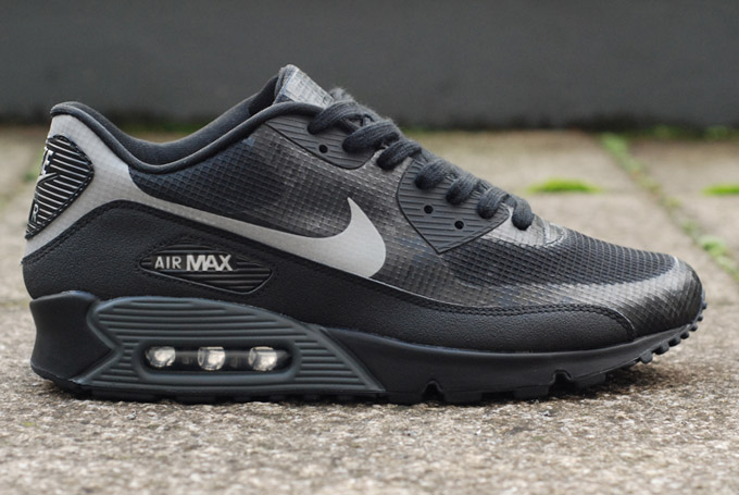 womens air max 90 hyperfuse all black