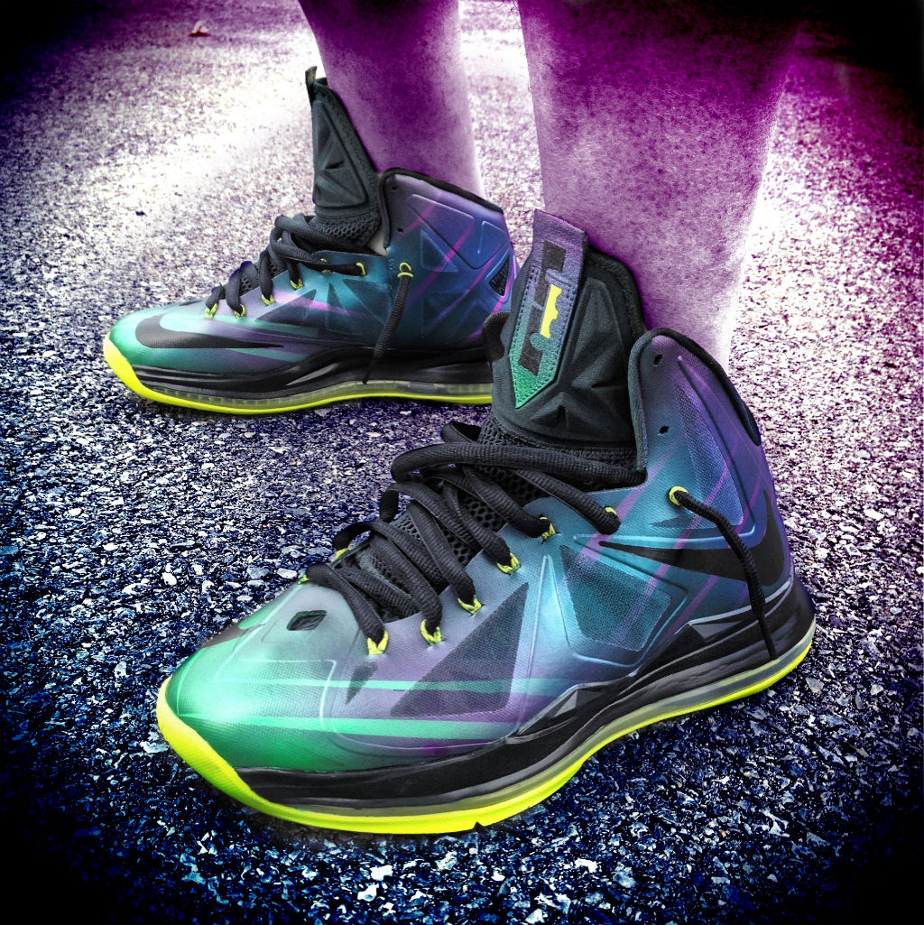 Nike LeBron X Phantom by Mache Custom Kicks (5)