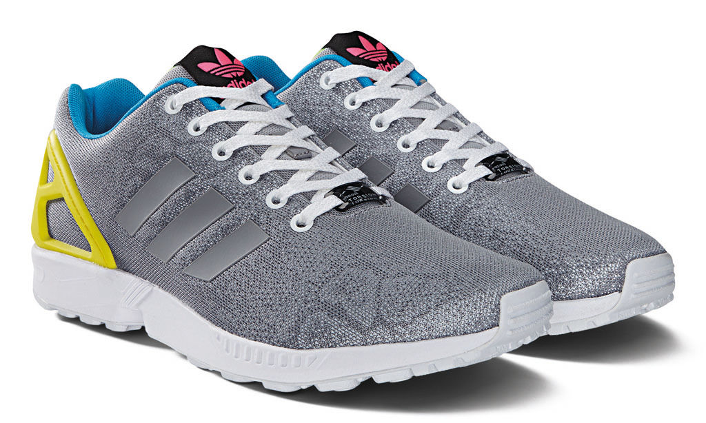 adidas ZX Flux Reflective Snake Pack Silver (2)