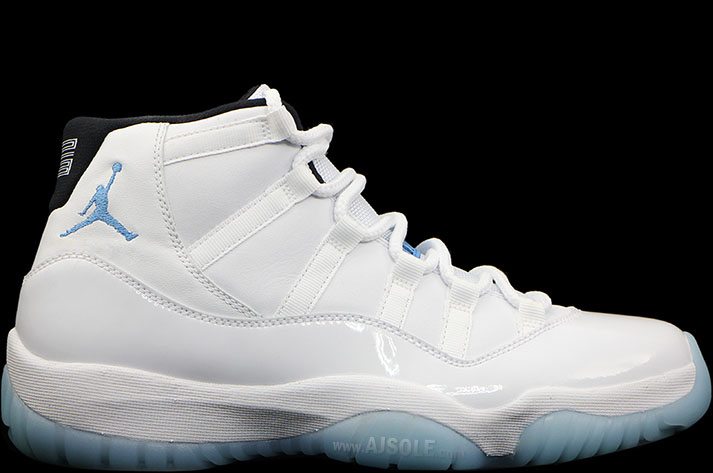 b8ac32de3a30d0 Air Jordan XI 11 Columbia Legend Blue 378037-117 (1)