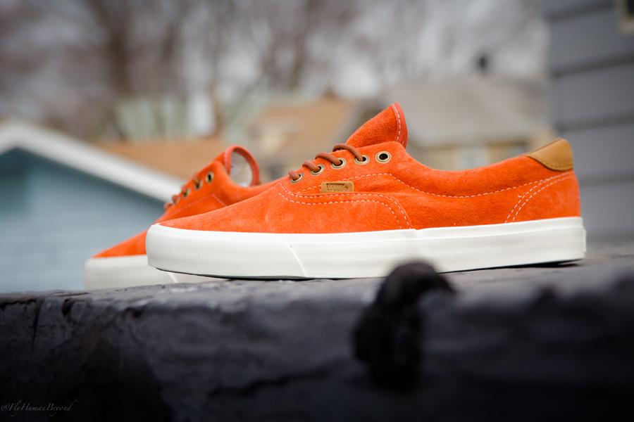 Vans California Era 59 Pigskin Suede - Orange Rust  d1cccef14e4d