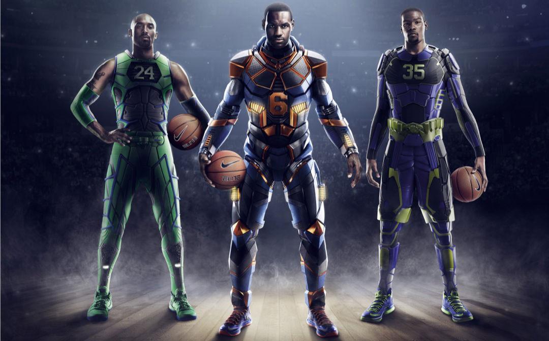 low priced a148a af8e6 Nike Basketball Unveils LeBron, Kobe, Durant Superhero Elite Series 2.0 (1)