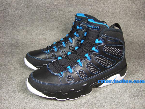 low priced 98b7c d37bf Air Jordan Retro 9 - Black/Photo Blue | Sole Collector