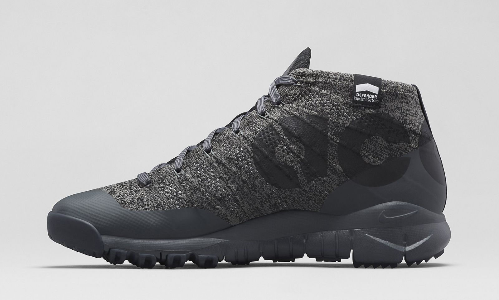 buy online f7f6a 29aed Nike ACG Flyknit Trainer Chukka FSB Release Date  12 18 14. Color   Black Anthracite-Black Style    728656-001. Price   220