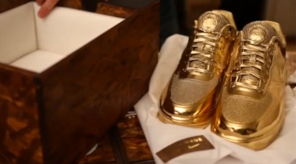 save off 0d435 e5bb8 Clot Created an All-Gold Nike Air Force 1